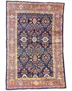 antique Mahal carpet, West Persia   325cm. x 208cm.(10ft.9in. x 5ft.10in.) I Christie's Sale 5750