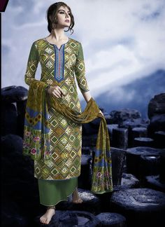 Multi Colour Satin Palazzo Suit  For Inquiry-   Email - support@ethnicoutfits.com Call - +918140714515 What's app / Viber - +918141377746