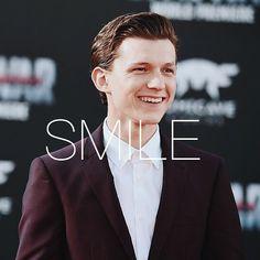 #smile // #tomholland