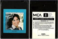 Loretta Lynn / Out of My Head and Back In My Bed ('78) / MCA MCAT-2330 (8-Track) #HonkyTonkNashvilleSound