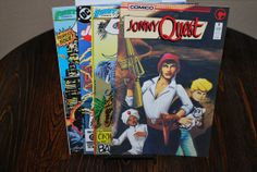 4 Comics from 1980's  Free Shipping by HobbyHaven on Etsy, $7.50