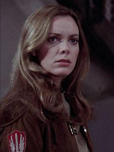BIRTHDAY GIRL: Anne Lockhart as Lt. Sheba in Battlestar Galactica (1978-79).