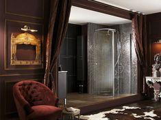 Salle de bain victorienne sur pinterest salles manger for Douche ouverte sur chambre