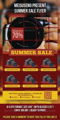 Summer Sale Flyer  - graphicriver sale