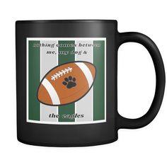 Dog Themed Mug - NFL Philadelphia Eagles On Black