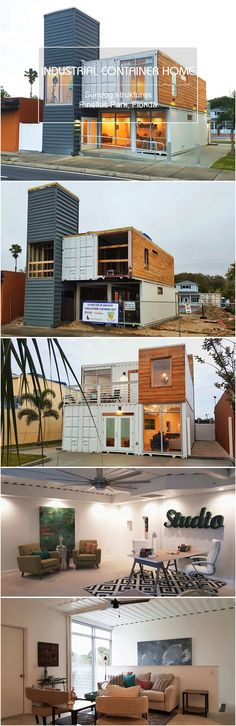 Container Industrial container home Florida