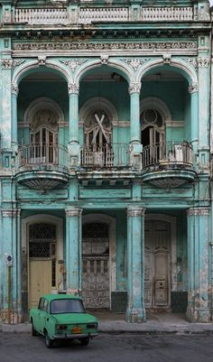 #turquoise and green...Cuba