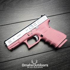 """897 Likes, 238 Comments - Omaha Outdoors (@omahaoutdoors) on Instagram: """"Glock 19 Gen 3 Hello Kitty Pew Pew 9mm Pistol Follow @omahaoutdoors if you haven't done so…"""""""