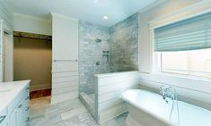 Strategy, tricks, and quick guide with regard to receiving the greatest end result as well as coming up with the optimum usage of walk in shower tile ideas Half Wall Shower, Bathroom Tub Shower, Tub Shower Combo, Master Bathroom, Large Bathrooms, Bathroom Design Small, Open Showers, Shower Installation, Walk In Shower Designs