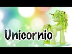 Cómo Hacer Un Unicornio de Porcelana Fría   Pasta Flexible - YouTube