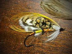 'Sharp-Tail' The Dakotas' Sharptailed Grouse is represented with this fly. Designed and tied by Ricardo Padilla 2017