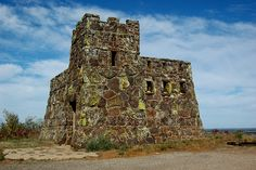 Coronado Heights, Lindsborg, built by WPA in 1932. I grew up near here and my grandfather helped build this.