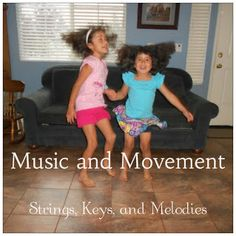 Strings, Keys and Melodies: Music and Movement - Carnival of the Animals