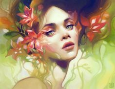 Fine Art and You: Beautiful Digital Paintings by Anna Dittmann