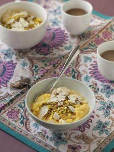 Le riz au lait des maharadjas (Kheer) - Marmiton  Avec du lait de coco en plus, c'est parfait !