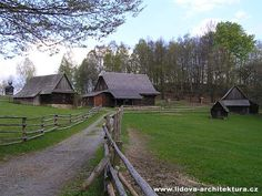 Skanzen v Rožnově pod Radhoštěm, Morava, Česká republika - Skansen in Rožnov pod Radhoštěm, Moravia, Czech Republic.
