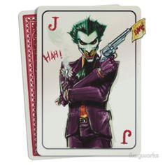 Joker Card by fragworks