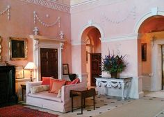 Kelmarsh Hall by Nancy Lancaster. England, man, England.