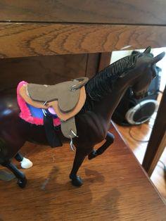 Saddle and pads