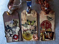 Steampunk tag collection by CherryTat
