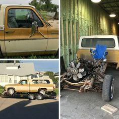 Two Tone Tuesday: Lance Nolte's 1976 Chevy C10 was his grandfather's truck. He plans to completely restore it while keeping the original two tone. What's the first thing you'd do on this restoration?  #truckrestoration #oldtrucks #twotonetruck #chevypickup #chevy #chevytrucks #chevyc10 #grandpastruck #trucklife #lmctruck