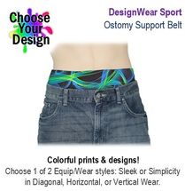 PouchWear DesignWear Sport Ostomy Support Belt