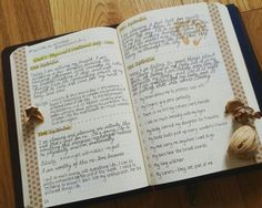 My pages for week 3 of the self-care challenge in my bullet journal