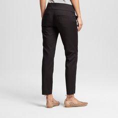 Women's Ankle Skinny Trouser Pants Black 13-14 - Xoxo (Juniors')