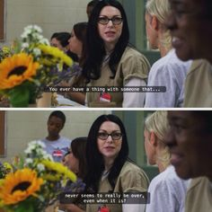 Alex Vause quote from season 3 of Orange is the new black! I just love this