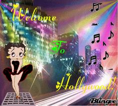 BETTY BOOP N HOLLYWOOD