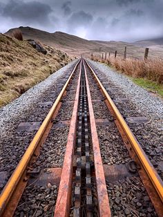 Mountain railway tracks on mount Snowdon, North Wales, UK. Source Facebook.com