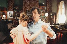OlyaTwinPhotomanipulation — Sherlock teaches Molly to dance