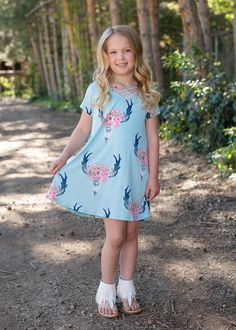 Mint Criss Cross Skull Dress Skull Print Dress Criss cross dress dress short sleeve dress Ryleigh Rue Clothing Online Shopping Online Boutique Boutique Fashion Kids clothing Style Mommy and me Matching Little Girl Fashion, Kids Fashion, Fashion Outfits, Fashion Clothes, Fashion Shoes, Mommy And Me Outfits, Kids Outfits, Kids Clothes Organization, Blue Dresses