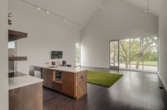 #Modern private residence designed just recently by Paragon Group situated in Nashville, Tennessee.  The Green #House