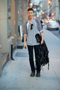Jenny Shimizu - another casual look for you