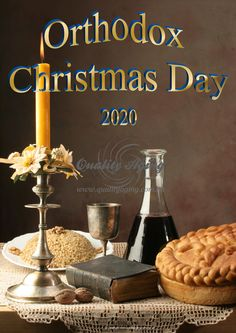 Orthodox Christmas Day – Event Poster Without a Date – Personel Celebration Serbian Christmas, English Christmas, Christmas Greetings, Merry Christmas, Christmas Cards, Christmas Photos, Christmas Time, Xmas, Acorn Wreath