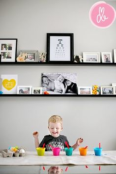 love this photo display. It's perfect!