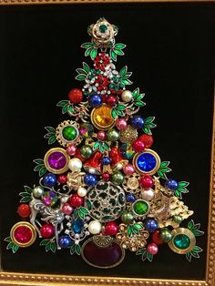 Vintage Jewelry Crafts Jewelry tree by Beth Turchi 2015