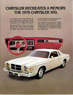 Chrysler 300 vintage ad