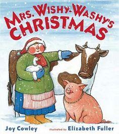 Book, Mrs. Wishy-Washy's Christmas by Joy Cowley