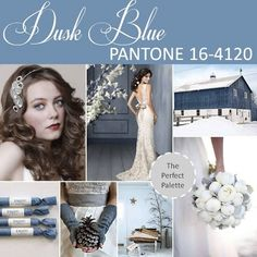 Dusk Blue | A Southern Tradition  wedding