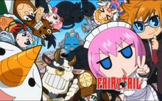 Fairy Tail is an anime series which features Magic, friendship, love, and everything in between. Billions of anime fans across the globe are looking forward to see Fairy Tail's newest episodes. This is not a surprise since Fairy Tail is packed. Freed Fairy Tail, Fairy Tail Lucy, Fairy Tail Guild, Fairy Tail Ships, 5 Anime, Anime Fairy, Anime Chibi, Chibi Natsu, Anime Girls