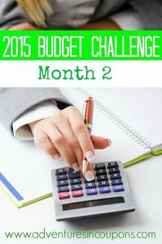 In 2014, I watched our budget spiral out of control! In 2015? We get it under control! Join us as we post our budget every month and watch our expenses fall each month! The month 1 update is ready and the challenge for month 2 is on!