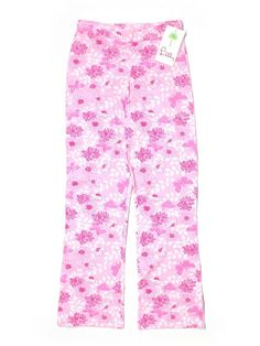 New Girl Lilly Pulitzer Elastic Waist Mariah Pants Pink Butterfly Kisses Size 14 #LillyPulitzer #CasualPants #Everyday