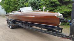 1939 24′ Greavette Streamliner | Classic Wooden Boats for Sale | Vintage Chris Craft | Antique Boats