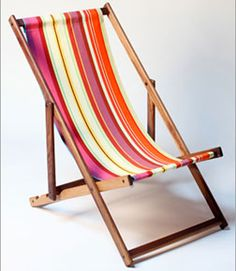 Handmade Beach Deck Chair, $215