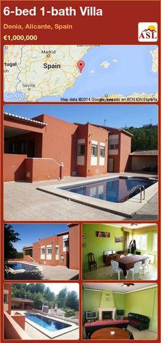 Villa in Denia, Alicante, Spain Private Garden, Private Pool, Closed Kitchen, Alicante Spain, Natural Park, Luxurious Bedrooms, Luxury Villa, Mountain View, Terrace