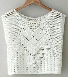 crochet crop top by Lauren Moffatt