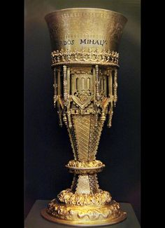 Goblet, Hungary, 17th century    @ Hungarian National Museum - Budapest