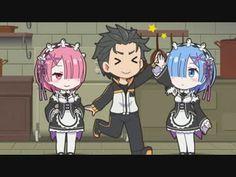 tn-skr4.smilevideo.jp smile?i=29108255.L Ram And Rem, Re Zero Rem, Best Waifu, Picture Credit, Another World, Subaru, Manga Anime, Cool Girl, Chibi